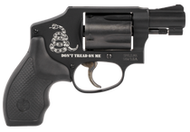 "Smith & Wesson 442 Airweight 'Don't Tread On Me', .38 Special, 1.8"" Barrel, Black, 5rd"