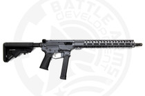 "Battle Arms Development Xiphos PCC 9mm, 16"" Barrel, B5 Bravo, Battlearms Grey, 33rd"