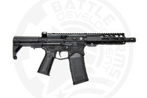 "Battle Arms Development Silent Professional SBR .300 Blackout, 7.5"" Barrel, VERT Stock, Black, 30rd"