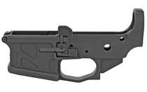 American Defense UIC Stripped Lower 5.56/.223, Take Down/Pivot Pins, Black