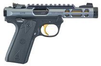 "Ruger Mark IV 22/45 Lite .22 LR, 4.4"" Threaded Barrel, Diamond Gray, 10rd"