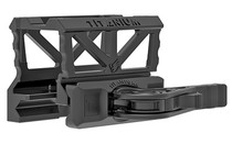 American Defense Titanium Optic Mount, Fits Trijicon MRO, Lower 1/3 Cowitness, Black
