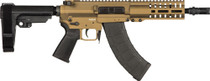 "CMMG Banshee 300 Pistol MK47 7.62x39mm, 8"" Barrel, Burnt Bronze, 30rd"