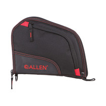 """Allen Auto-Fit 9"""" Handgun Black/Red Endura Case"""