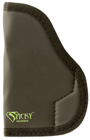 "Sticky Holsters MD-1 Small 9mm up to 3.5"" Barrel Ruger LC-9 Latex Free Synthetic Rubber Black Green Logo"