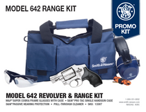 "Smith & Wesson 642 Range Kit .38 Special, 1.8"" Barrel, SS, Fixed Sights, 5rd"