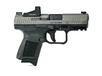 "Canik TP9 Elite SC 9mm, 3.6"" Bbl, Two-Tone, 12 and 15 Round Mags Includes Shield SMS 2"
