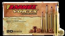 Barnes VOR-TX Rifle 300 RUM 180gr, Tipped TSX Boat Tail, 20rd Box