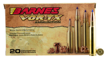 Barnes VOR-TX Rifle  338 Win Mag 225gr, Tipped TSX Boat Tail, 20rd Box