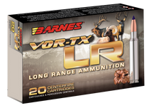 Barnes VOR-TX LR Rifle  270 Winchester 129gr, LRX Boat Tail, 20rd Box