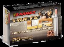 Barnes VOR-TX LR Rifle 7mm Remington Mag 139gr, LRX Boat Tail, 20rd Box