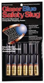 Cor-Bon Glaser Safety Slug Blue 9mm+P 80gr, Round Nose, 6 Pack