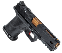 "ZEV Technologies O.Z-9 Compact, Covert, Semi-automatic Pistol, 9mm, 4.5"" Bronze Barrel, Steel Frame, Polymer Grip, Black, 15rd"