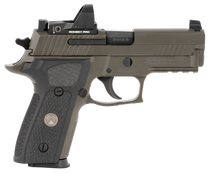 "Sig P229 Legion RXP, DA/SA, Compact, 9mm, 3.9"" Barrel, Alloy Frame, Legion Gray Finish, G10 Grips, Night Sights, Romeo1 Pro Reflex Optic, 10Rd, 3 Magazines"