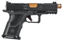 "ZEV Technologies O.Z-9 Compact 9mm, 4"" Bronze Threaded Barrel, Steel Frame, Polymer Grip, Black, 15rd"