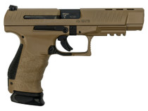 """Walther Limited Production PPQ Classic 9mm,  5"""" Barrel, Full Coyote Tan, 2x 15rd"""