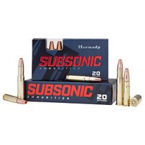 Hornady Subsonic, 450 BM, 395gr, Sub-X, 20rd Box