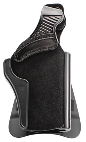 """Galco Wraith 2 Belt/Paddle Holster, Fits Colt 4 1/4"""" 1911, Kimber 4"""" 1911, 4"""" 1911 RAIL, Para USA 4 1/4"""" Single Stack Mag, 4 1/4"""" with Staggered Mag, S&W SW1911SC 4 1/4"""", Springfield 4"""" 1911, Right hand, Black Leather"""