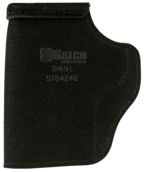 """Galco Stow-N-Go Black Leather Inside Waistband 1911 3"""", Right Hand"""