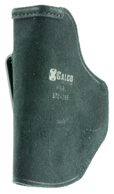 Galco Stow-N-Go Inside The Pant Holster, Fits HK P2000, USP Compact 45, USP Compact 9/40, Right Hand, Black Leather