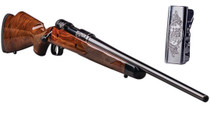 "Savage 110 125th Anniversary 308 22"" Barrel, AccuTrigger, Black Walnut Monte Carlo Stock, Limited to 1894 Rifles Made"