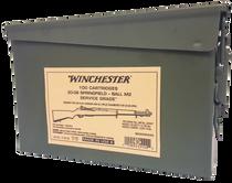 Winchester Service Grade  30-06 Springfield 150gr, FMJ, 100rd Box
