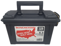 Winchester USA 6.5 Creedmoor 125gr, Open Tip, 120rd Box