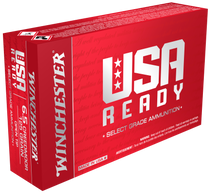 Winchester USA Ready  6.5 Creedmoor 125gr, Open Tip, 20rd Box