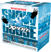 "Winchester Xpert Snow Goose High Velocity 12 Ga, 3"", 1 1/4oz, 1&2 Shot, 25rd Box"