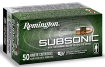Remington Silencer Subsonic 22LR 38gr, HP, 100rd Box