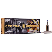 Federal Premium 270 WSM 136gr, Terminal Ascent, 20rd Box