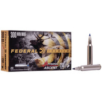 Federal Premium 300 Win Mag 200gr, Terminal Ascent, 20rd Box