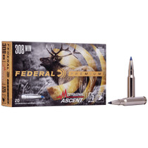 Federal Premium 308 Win 175gr, Terminal Ascent, 20rd Box