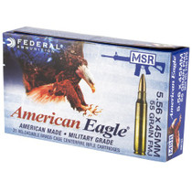 Federal XM 5.56mm 55gr, Metal Case Boat Tail, 20rd Box