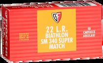 Fiocchi Exacta Super Match 22LR 40gr, Round Nose, 50rd Box