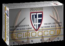 Fiocchi Extrema  308 Win/7.62 NATO 150gr, Swift Scirocco II Boat Tail Spitzer, 20rd Box