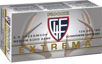 Fiocchi Extrema 6.5 Creedmoor 129gr, SST Polymer Tip BT, 20rd Box