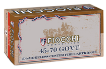 Fiocchi Special  45-70 Government 405gr, Leadrd Nose Flat Point, 20rd Box