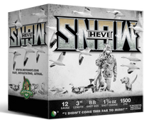"HEVI-Shot Hevi-Snow 12 Ga 3"", 1-1/4oz, BB Shot, 25rd Box"