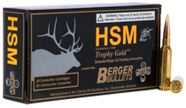 HSM Trophy Gold 6.5 Creedmoor 140gr, Match Very Low Drag, 20rd Box
