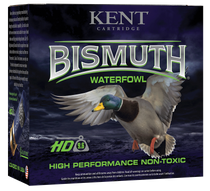 "Kent Cartridge Bismuth Waterfowl 12 Ga, 3.50"", 1 1/2oz, 3 Shot, 25rd Box"