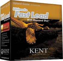 "Kent Cartridge Ultimate FastLead Upland 12 Ga, 2.75"", 6 shot, 1-3/8oz, 25rd Box"