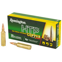 Remington HTP Copper 270 Winchester Short Magnum 140gr, TSX Boat Tail, 20rd Box