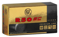 Walther R50 Short Case 22LR 40gr, Lead Hollow Point, 50rd Box