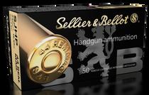 Sellier & Bellot Handgun  44 Remington Mag 240gr, Semi-Jacketed Hollow Point, 50rd Box