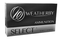 Weatherby Select Plus 300 Weatherby Mag 180gr, Hornady Interlock, 20rd Box