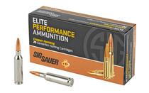 Sig Ammo 6mm Creedmoor 80gr, Elite Copper Hunting, 20rd Box