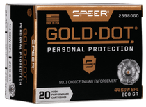 Speer Gold Dot Personal Protection  44 Special 200gr, Hollow Point, 20rd Box