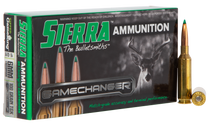 Sierra GameChanger 6mm Creedmoor 100gr, Tipped GameKing, 20rd Box