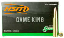HSM Game King 284 Winchester 160gr, Spitzer Boat Tail, 20rd Box